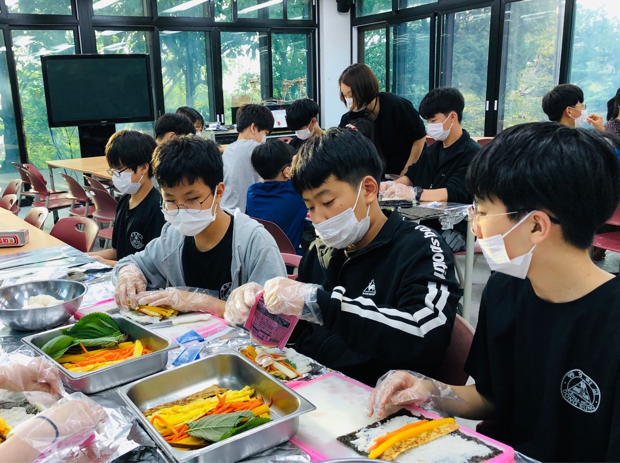 9월23일 김밥 만들기